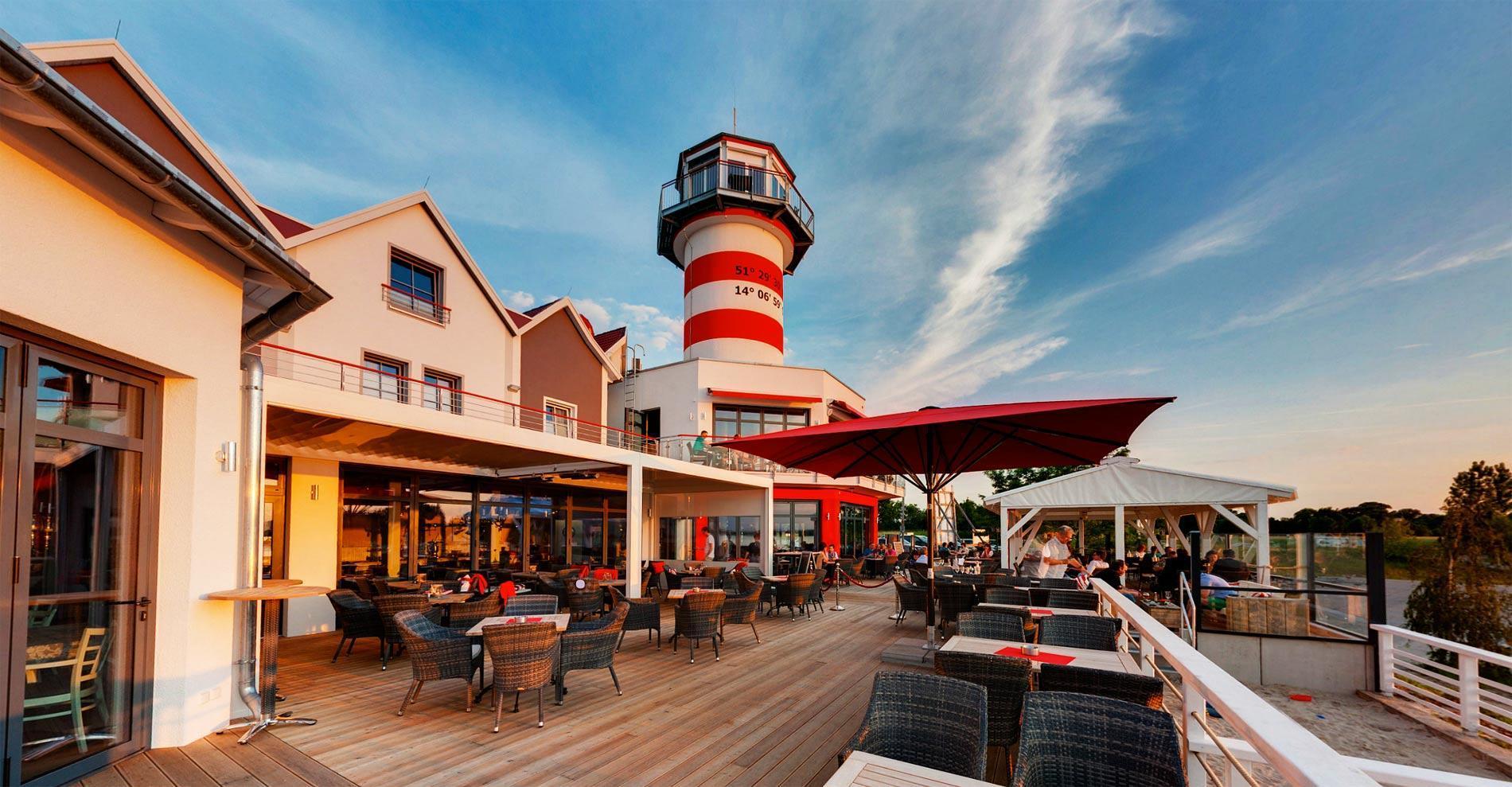 der leuchtturm komplex derleuchtturm hotel und restaurant im lausitzer seenland. Black Bedroom Furniture Sets. Home Design Ideas