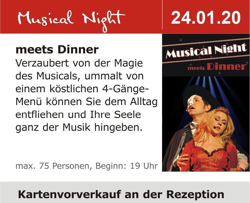 Musical Night meets Dinner