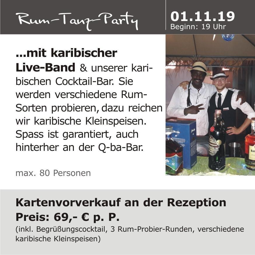 Rum-Tanz-Party