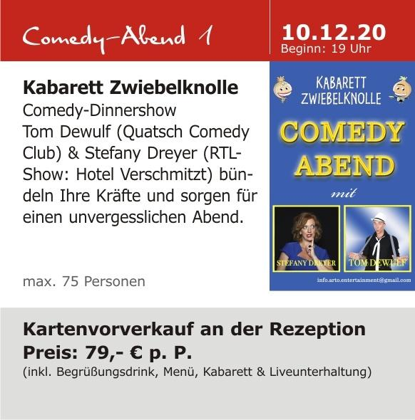 Comedy-Abend 1